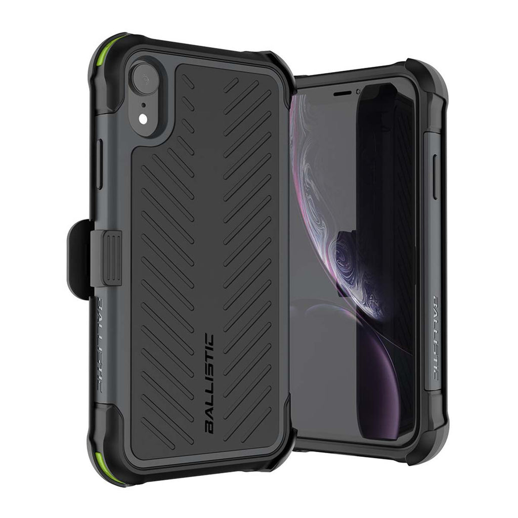Ballistic Tough Jacket Maxx Series For iPhone XR - Black