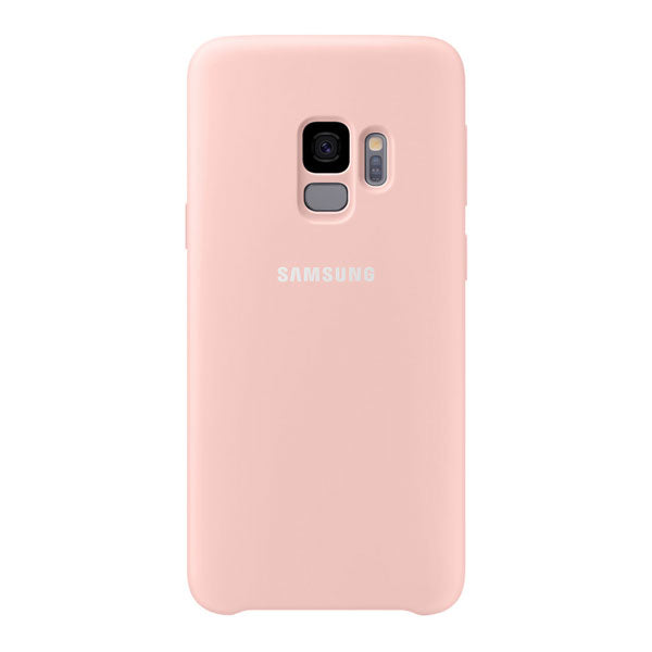 Samsung Silicone Cover For Samsung Galaxy S9 - Pink