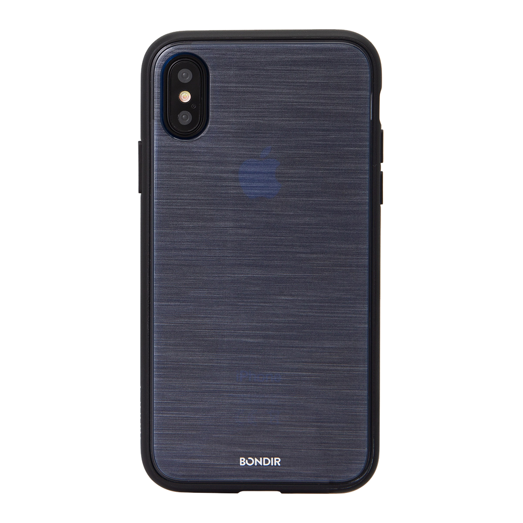 Bondir Clear Coat Mist For iPhone X/XS - Navy