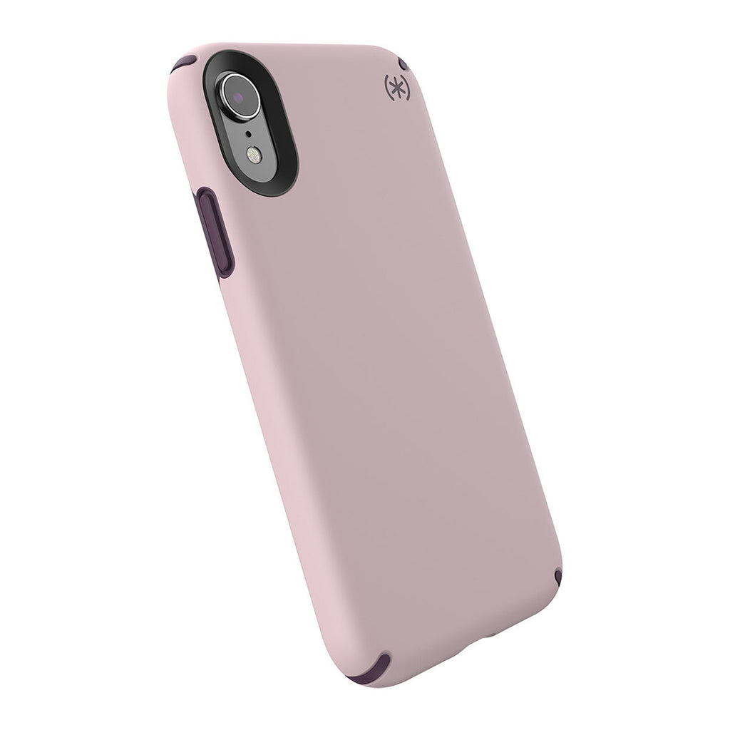 Speck Presidio Pro For iPhone XR - Meadow Pink/Vintage Purple