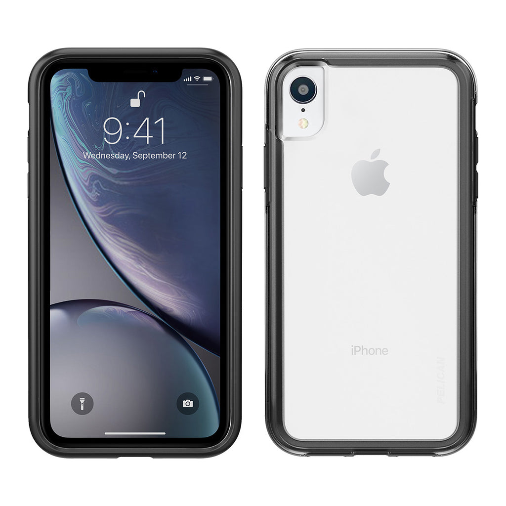 Pelican Adventurer For iPhone XR - Clear/Black