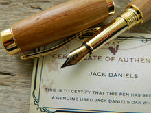 Load image into Gallery viewer, Suffolk Regent Fountain Pen Whiskey Barrel