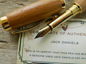Suffolk Regent Fountain Pen Whiskey Barrel