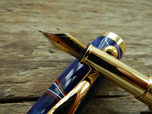Suffolk Regent Fountain Pen Union Jack Acrylic