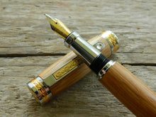 Load image into Gallery viewer, Suffolk King Fountain Pen Whiskey Barrel