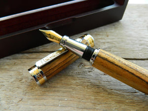 Suffolk King Bocote Fountain Pen