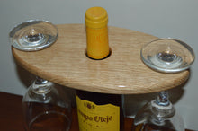 Load image into Gallery viewer, Handmade Oak Wine Butler