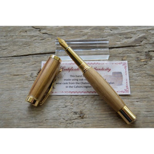 Suffolk Regent Fountain Pen Wine Barrel Cask