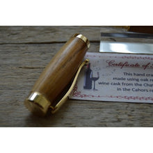 Load image into Gallery viewer, Suffolk Regent Fountain Pen Wine Barrel Cask