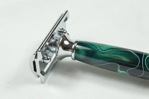 Safety Razor - Green Acrylic