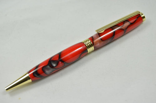 Southwold Twist Ballpoint Gold Volcano