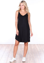 Load image into Gallery viewer, Side Slit Sleeveless Dress