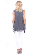 Load image into Gallery viewer, Sleeveless Open Vest