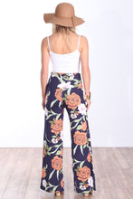 Load image into Gallery viewer, DT09 Fold Over Printed Palazzo Pants