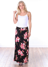 Load image into Gallery viewer, Comfortable Fold Over Maxi Skirt