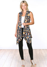 Load image into Gallery viewer, Sleeveless Printed Open Vest