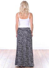 Load image into Gallery viewer, DT22 Comfortable Fold Over Maxi Skirt