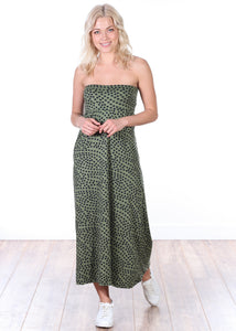 DT23 Comfortable Fold Over Maxi Skirt