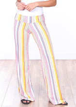Load image into Gallery viewer, DT28 Fold Over Printed Palazzo Pants