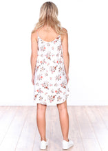Load image into Gallery viewer, DT30 Side Slit Sleeveless Printed Dress