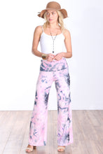 Load image into Gallery viewer, DT36 Fold Over Printed Palazzo Pants