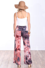 Load image into Gallery viewer, DT37 Fold Over Printed Palazzo Pants