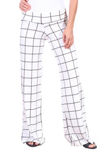 Load image into Gallery viewer, DT41 Fold Over Printed Palazzo Pants