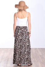 Load image into Gallery viewer, DT43 Comfortable Fold Over Maxi Skirt