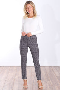 M7 Mid Rise Ankle Pull On Pants