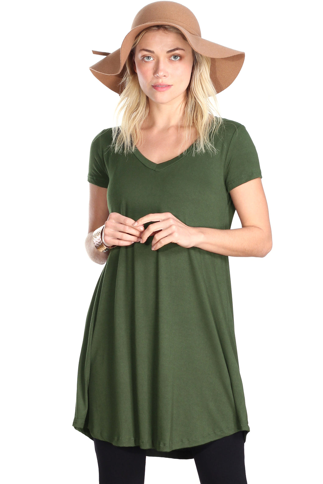 Short Sleeve Tunic Top