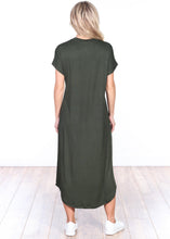 Load image into Gallery viewer, Short Sleeve Midi Dress