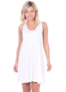 Sleeveless Tank Dress