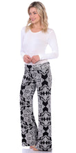 Load image into Gallery viewer, ST27 Fold Over Printed Palazzo Pants