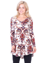 Load image into Gallery viewer, Long Sleeve Vneck Tunic