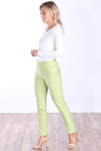 Sage Mid Rise Ankle Pull On Pants
