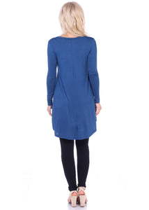 Long Sleeve Vneck Tunic