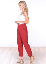 Load image into Gallery viewer, Pull-on Cropped Trouser Pants