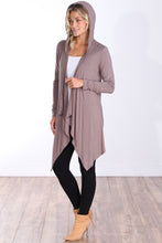 Load image into Gallery viewer, Toffee Long Sleeve Hooded Cardigan