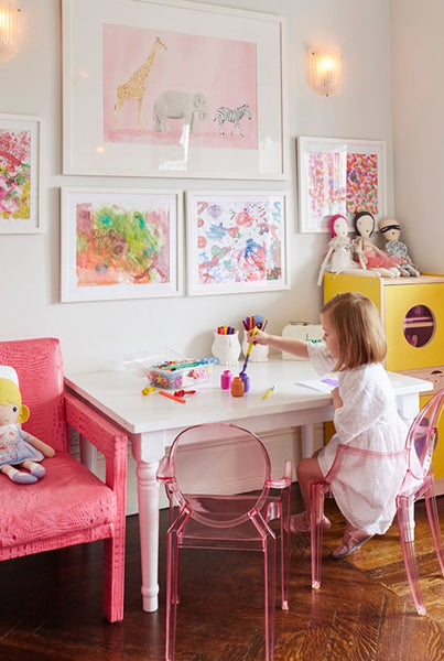Colourful Creative Space For Tweens