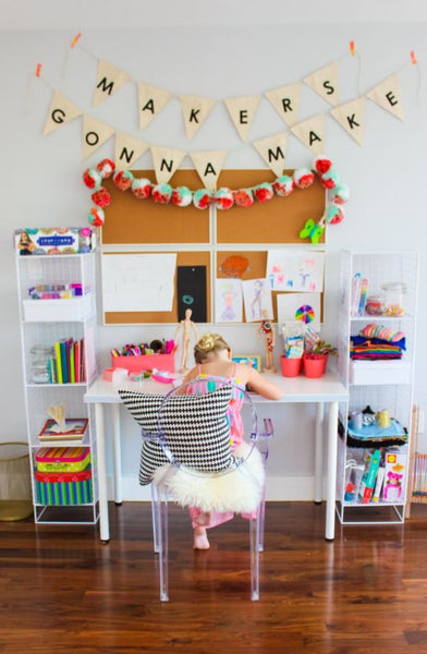 Maria Kondo organised Art space for kids