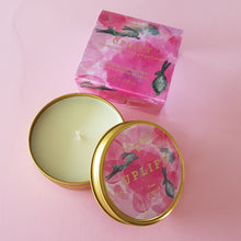 Rose and Peony Travel Candle