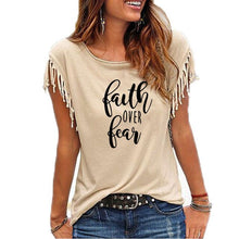 Load image into Gallery viewer, Faith Over Fear Women's Sleeve