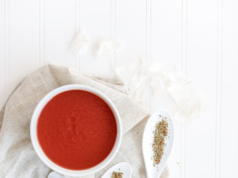 Healthy & Spicy Tomato Soup Recipe