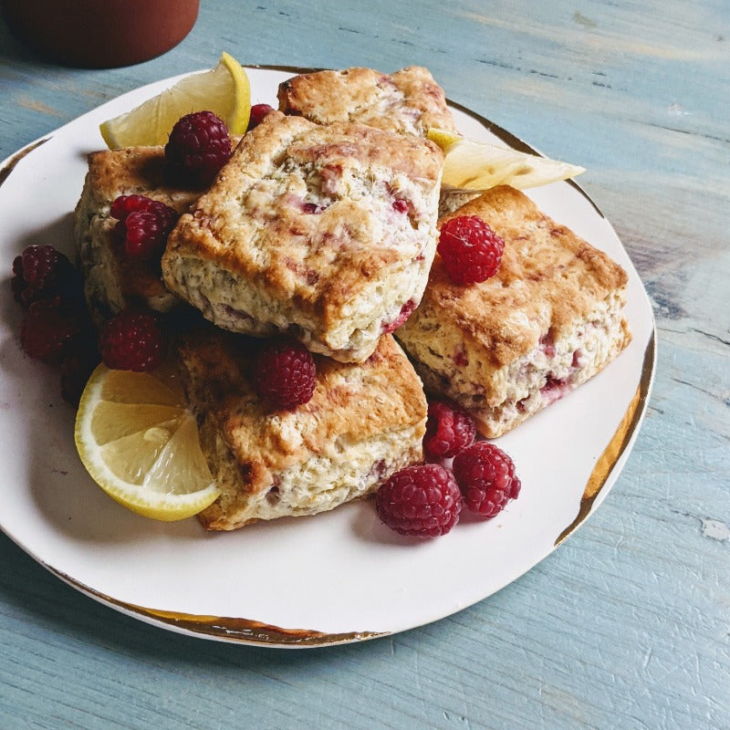 Wildgrain Raspberry-Lemon Biscuits!