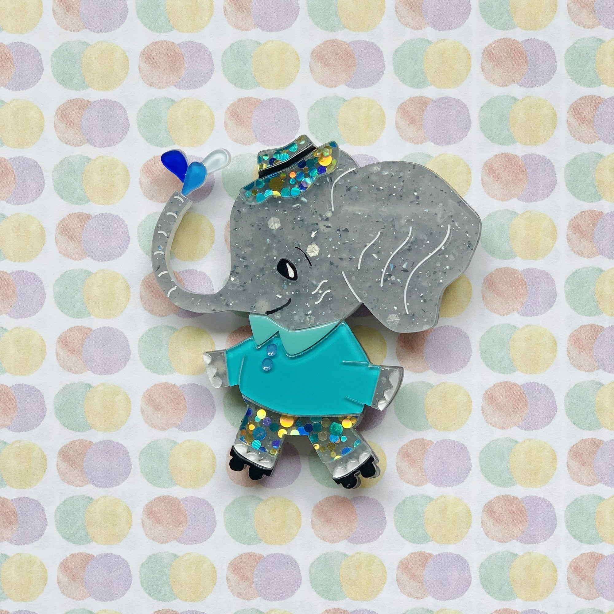 A little about us and our latest brooch launch! 🐘