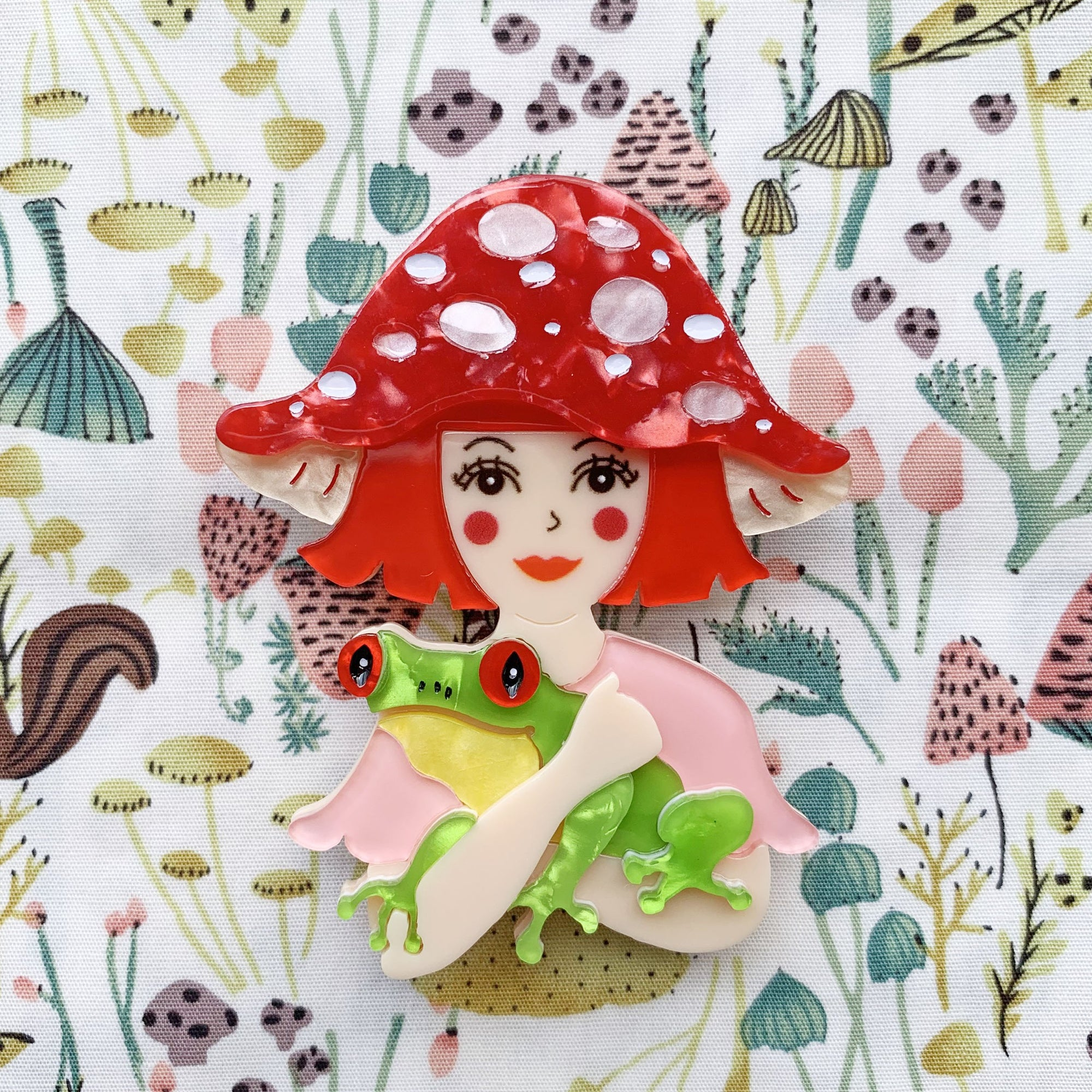 She Loves Blooms Brooch Collection