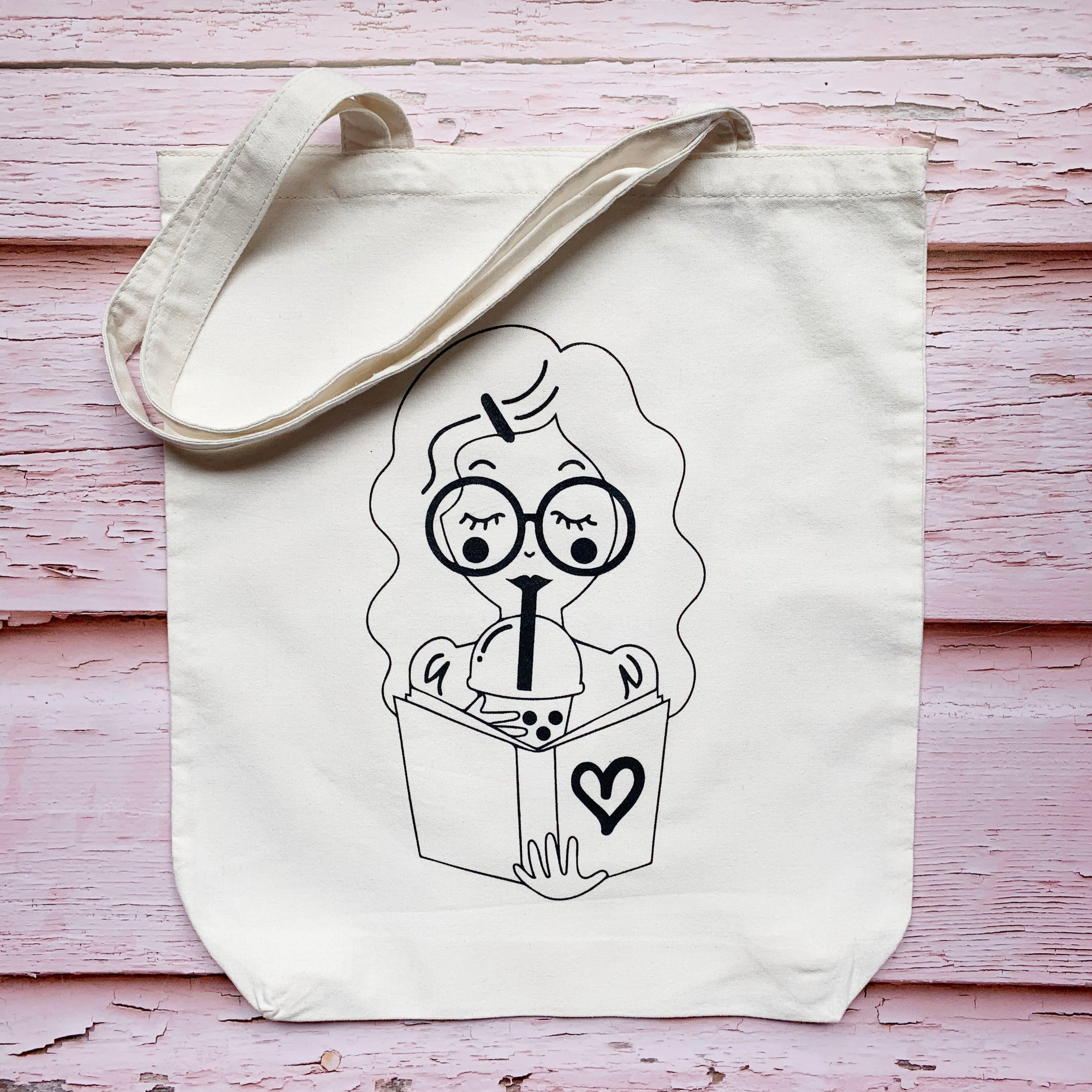 She Loves Blooms Cotton Tote Bags