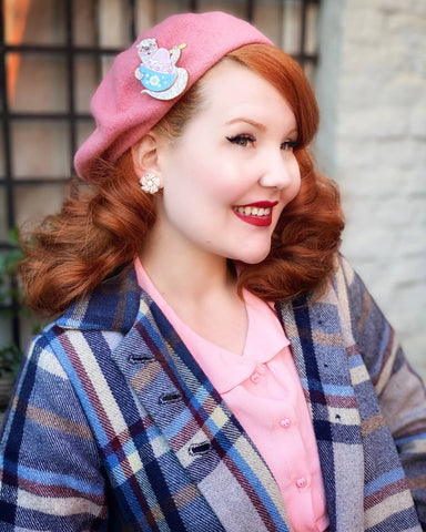 Best ways to style your brooch l Hat style