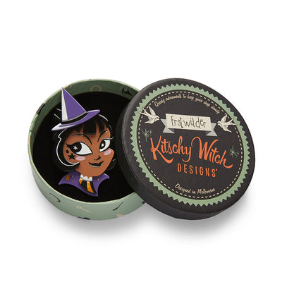 Erstwilder x Kitschy Witch Which Witch? Brooch