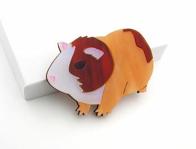 BekBek Makes Guinea Pig Brooch